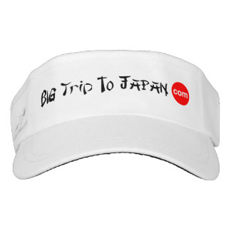 Big Trip To Japan Women's Visor
