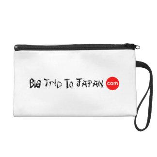 Big Trip To Japan Wristlet