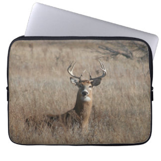 Big Trophy Buck Deer Camo 13 Inch Laptop Sleeve