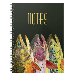 Big Trout Fly Fisherman's Notebook