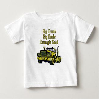 Big Truck Big Dude Enough Said Baby T-Shirt