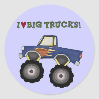 Big Trucks Theme Fun Stickers
