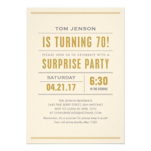 70Th Birthday Invite with great invitations ideas