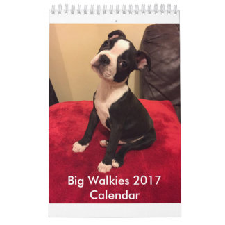 Big Walkies Calendar 2017