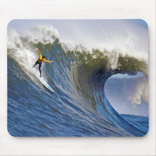 Big Wave at the Mavericks Surfing Competition Mousepad