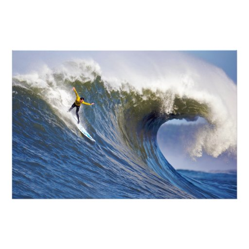 Big Wave at the Mavericks Surfing Competition Photo Art