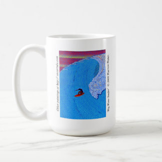 Big Wave Surfer ©2008 Warren Slater / Oscarzulu Coffee Mug