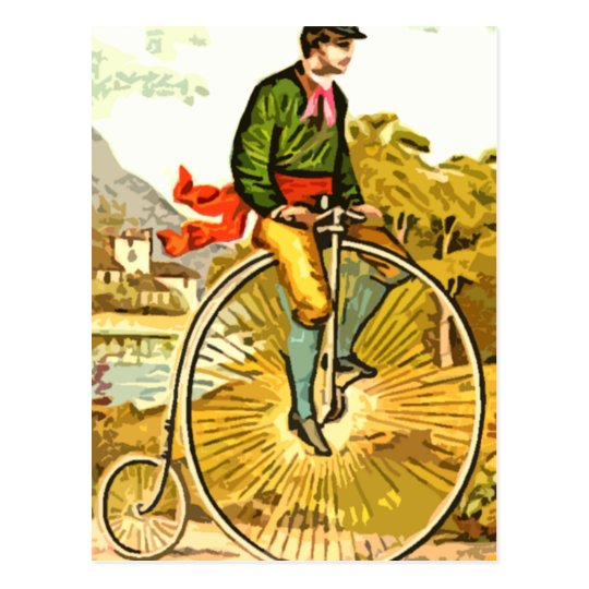 Big Wheel Postcard