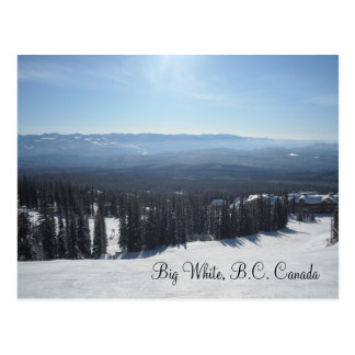 Big White, B.C. Canada Postcard