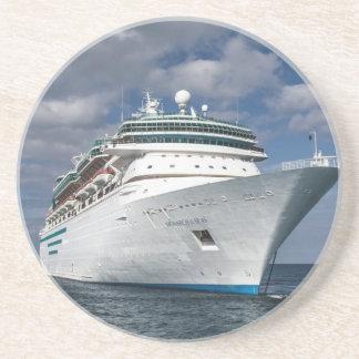 Big White Cruise Ship Coaster