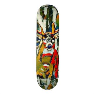 Big Whitetail Buck Outdoors Acrylic Park Board Skateboard Deck