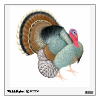Big Wild Turkey Bird Wall Decal