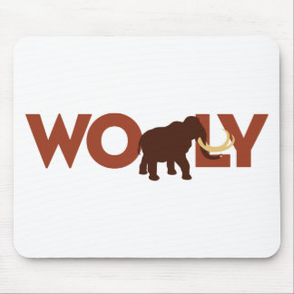 Big Wooly Mammoth Mouse Pad