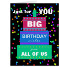 Big Work Birthday Card from Group