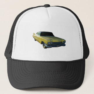 Big Yellow Fin 59 Cadillac Trucker Hat