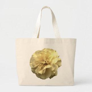 Big Yellow Rose Large Tote Bag