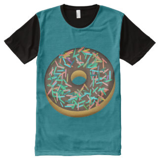 Big Yummy Chocolate Donut With Sprinkles Shirt