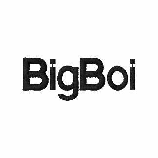 BigBoi embroidered shirt