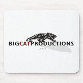 BIGCATPRODUCTIONS LOGO MOUSE PAD