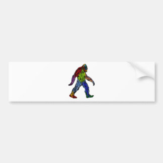 Bigfoot at Large Bumper Sticker