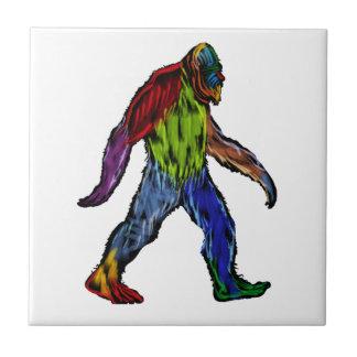 Bigfoot at Large Ceramic Tiles