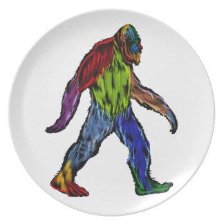 Bigfoot at Large Dinner Plate