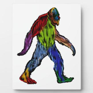 Bigfoot at Large Plaque