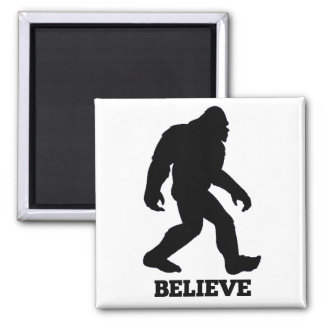 Bigfoot Believe Magnet