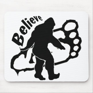 Bigfoot Believe Mouse Pad