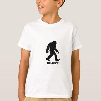 Bigfoot BELIEVE Sasquatch T-Shirt