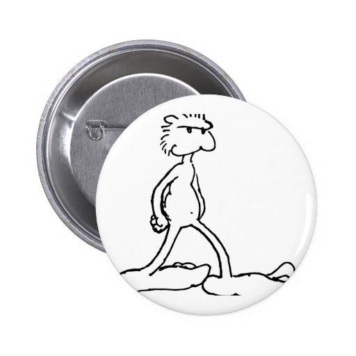 bigfoot pinback button