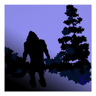 Bigfoot Country Perfect Poster