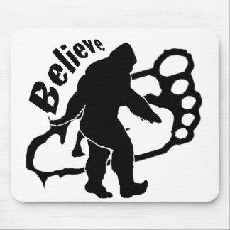 Bigfoot croient tapis de souris