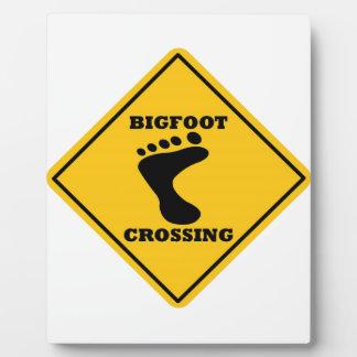 Bigfoot Crossing Street Sign Plaques