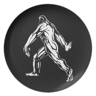 Bigfoot Dinner Plates