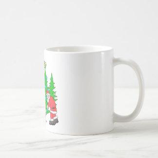 Bigfoot family  and Santa Coffee Mug