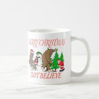Bigfoot Family Christmas 2 Coffee Mug