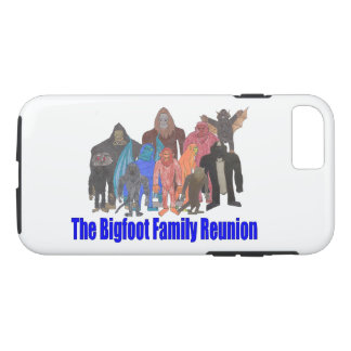 Bigfoot Family Reunion Phone Case