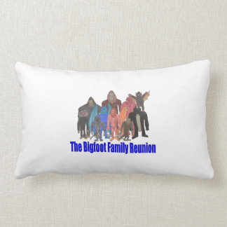 Bigfoot Family Reunion Pillow