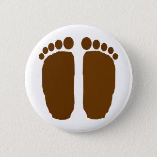 Bigfoot Feet! 2 Inch Round Button