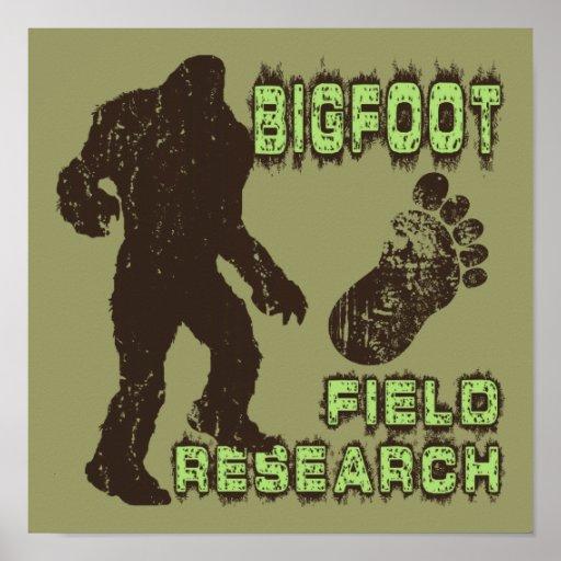 Bigfoot Field Research Print