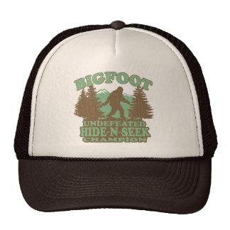 BIGFOOT Funny Saying vintage distressed design Hats