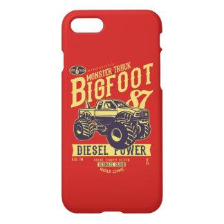 Bigfoot Glossy Phone Case