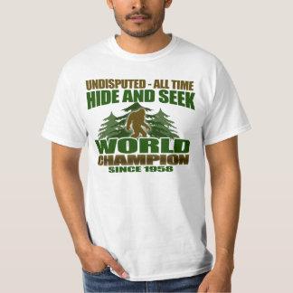 Bigfoot Hide and Seek World Champion T-Shirt