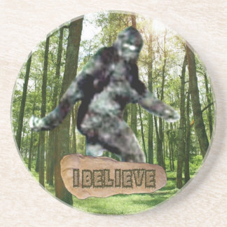 Bigfoot I Believe Coaster