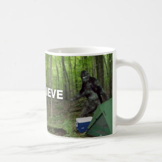 Bigfoot I Believe Coffee Mug