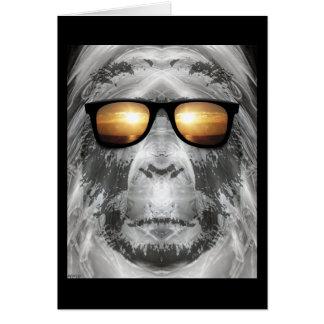 Bigfoot In Shades Card