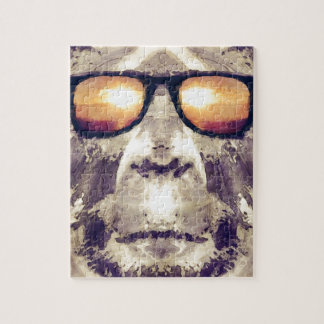 Bigfoot In Shades Jigsaw Puzzle