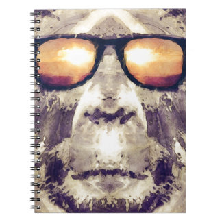 Bigfoot In Shades Notebooks