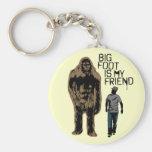 Bigfoot Is My Friend Key Chain